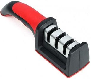 Asinātājs 3 Slots Knife Sharpener For Kitchen Red/Black