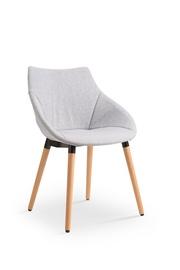 Ēdamistabas krēsls Halmar K - 226 Light Grey