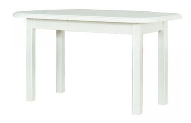 Обеденный стол Bodzio S92 White, 1350x800x770 мм
