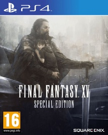 Final Fantasy XV Day One Edition Steelbook Special Edition PS4