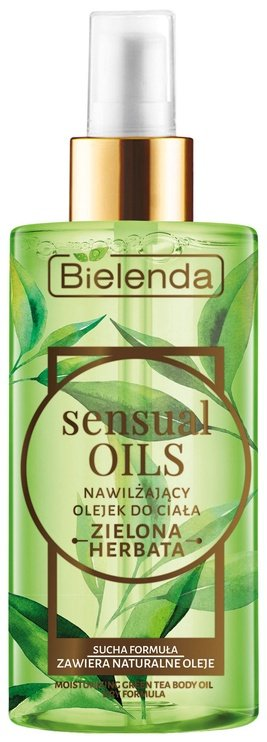 Bielenda Sensual Oils Moisturizing Green Tea Body Oil 150ml