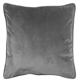 Dekoratīvs spilvens Domoletti Velvet, pelēka, 450 mm x 450 mm
