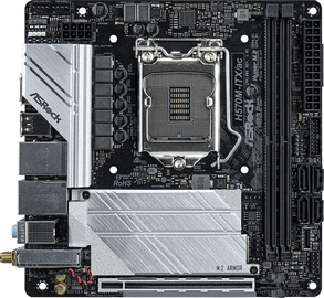 Mātesplate ASRock H570M-ITX/ac