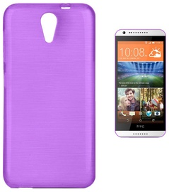 Forcell Jelly Brush Back Case For HTC Desire 620 Violet