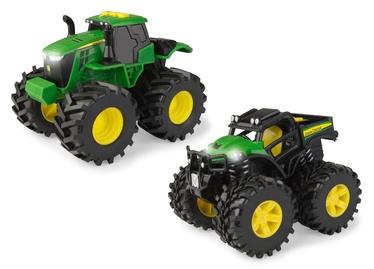 Tomy John Deere Monster Treads Tractors Set 46670 2pcs