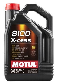 Motul 8100 X-Cess 5W40 Motor Oil 5L