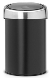 Brabantia Touch Bin 3l Matt Black