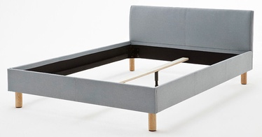 Кровать Meise Möbel Lena, голубой, 205x125 см