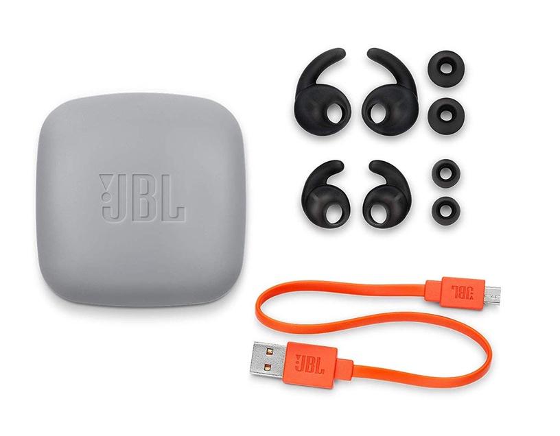 Austiņas JBL Reflect Contour 2 Secure Fit White, bezvadu