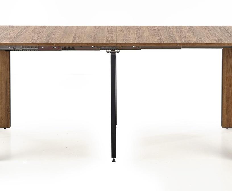 Pusdienu galds Halmar Samson, melna/valriekstu, 420 - 1980x800x760mm
