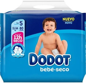 Dodot Baby Dry Diapers T5 80pcs