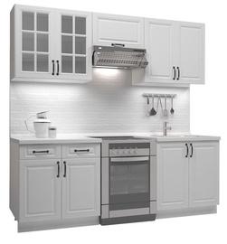 Кухонный гарнитур Halmar Michella, белый, 2.2 м