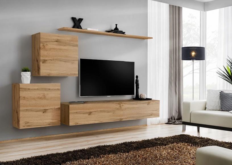 Dzīvojamās istabas mēbeļu komplekts ASM Switch V Wotan Oak