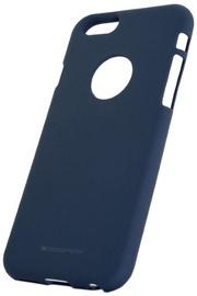 Mercury Soft Surface Matte Back Case For Samsung Galaxy A8 Midnight Blue