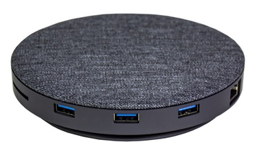 Devia UFO 10 in 1 Wireless Charger Grey