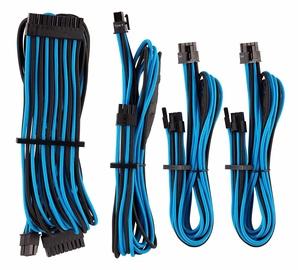 Corsair Premium Individually Sleeved PSU Cables Starter Kit Type 4 Gen 4 Blue/Black