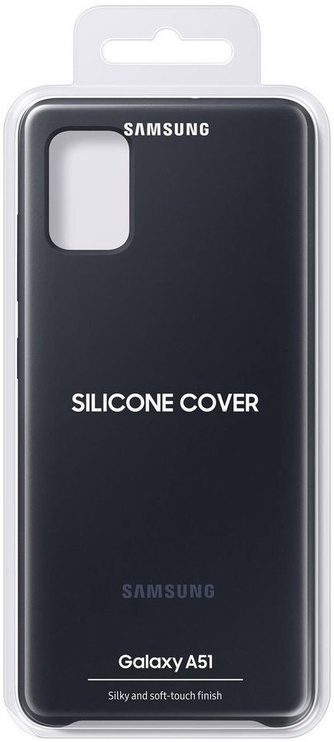 Back cover for Samsung A51 Black