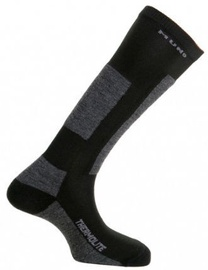 Mund Socks Skiing Antibacterias Black XL