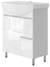 Izlietnes skapis Vento Monika Bathroom Cabinet 65 White