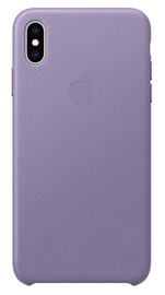 Apple Leather Back Case For Apple iPhone XS Max Lilac