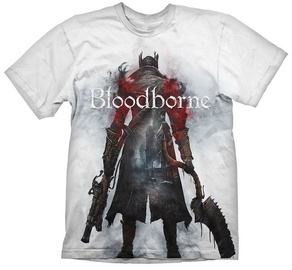 Gaya Entertainment T-Shirt Bloodborne Hunter Street White S