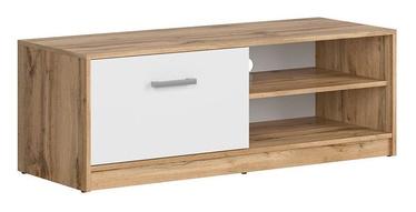 ТВ стол Black Red White Matos Wotan Oak/White, 1185x445x425 мм
