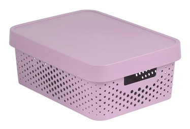 Curver Infinity Perforated Box 11l Pink