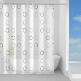 Штора для ванной Gedy Nidi TVI13331830, 1800x2000 мм