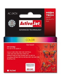 TINTE CANON ActiveJet AC-24CN Cartridge 16.5ml Cyan Magenta Yellow