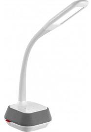 Gaismeklis Platinet PDLM6 Desk Lamp w/ Speaker 5+7W White