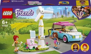 Konstruktors LEGO Friends Olīvijas elektroauto 41443, 183 gab.