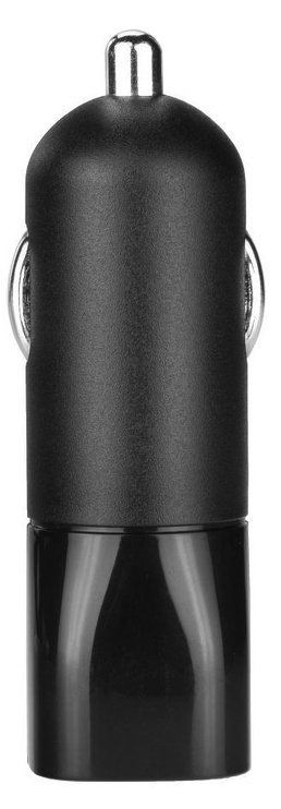 BlueStar USB Car Charger + Micro USB Cable Black