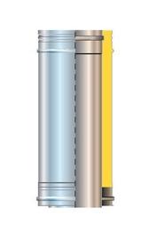 Дымоход Cordivari Isolated Chimney Pipe D150 0.5m