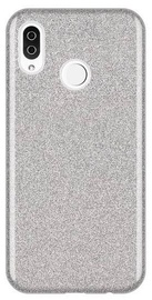 Wozinsky Glitter Shining Back Case For Samsung Galaxy A9 Silver