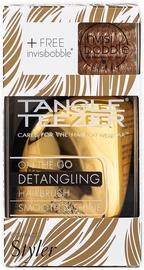 Tangle Teezer & Invisibobble Bronze 4pcs Kit
