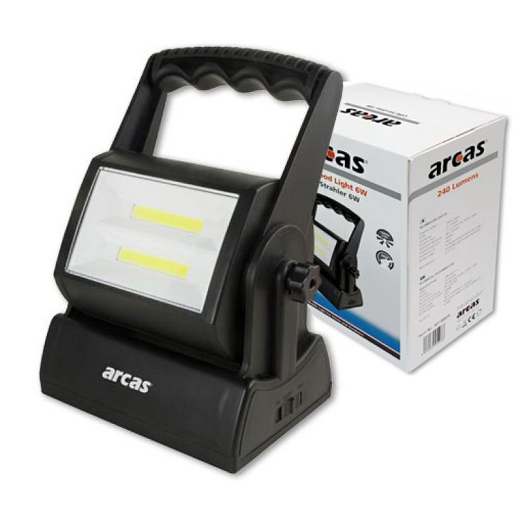 FLOODLIGHT ARCAS COB LED 6W 240 LM+3XD