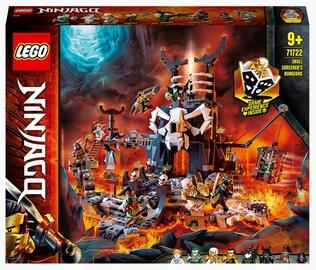 Konstruktors LEGO®Ninjago Galvaskausu burvja pazemes cietumi 71722