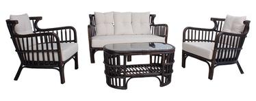 Комплект мебели для гостиной Home4you Hampton 42062, коричневый