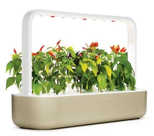 Gudrais mājas dārzs Click & Grow Smart Home Garden 9, smilškrāsas