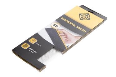 Slīpēšanas tīkls Forte Tools, NR80, 280x105 mm, balts, 5 gab.