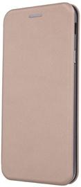 TakeMe Viva Series Book Case For Samsung Galaxy J4 Plus J415 Gold