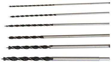 Geko Wood Drill Set 4-12mm 300mm 6pcs