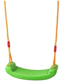 Woodyland Swing With Plastic Seat Green 91951