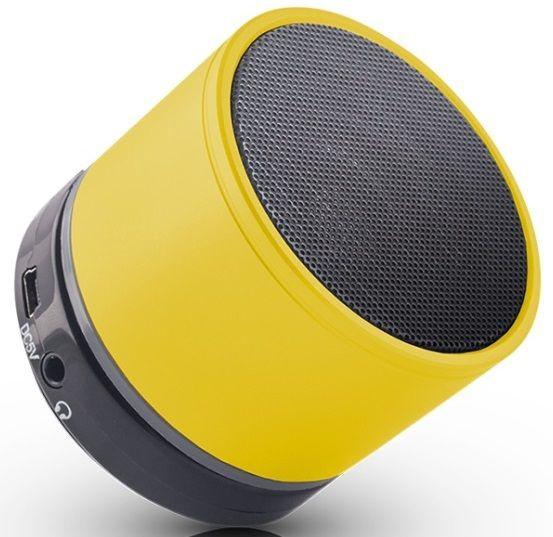 Bezvadu skaļrunis Forever BS-100 Yellow, 3 W
