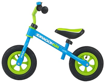 Velosipēds Milly Mally Dragon Air Balance Bike Blue 2763