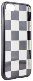 Mocco ElectroPlate Chess Back Case For Samsung Galaxy S7 Black