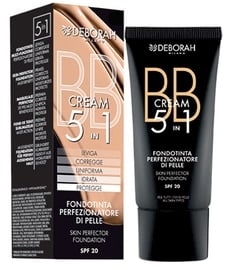 BB крем для лица Deborah Milano 5in1 Foundation SPF20 02, 30 мл