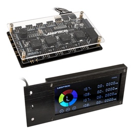 Lamptron SM436 PCI RGB Fan and LED Controller Black