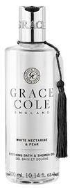 Grace Cole Soothing Bath & Shower Gel 300ml White Nectarine & Pear