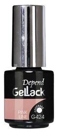 Nagu laka Depend GelLack Pink Line, 5 ml